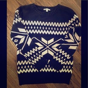 Piperlime Snowflake Sweater-like new!!